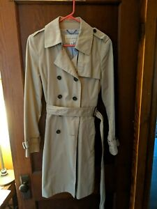 Medium Petite White NWT $229 Details about  /Banana Republic MP Textured Short Trench Coat