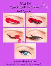 ORIGINAL Eyeliner Stickers Cosmetic Stencils Makeup Tool 12pcs START SET US2