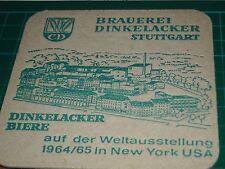 sottobicchiere beer mats birra bierdeckel dinkelacker brauerei suttgart