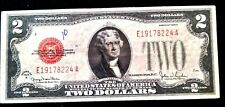 1928 G Red Seal $2 United States Note