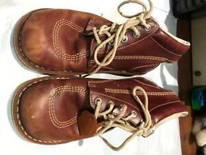 Mens Shoes Kickers Size Uk 9 Colour Brown