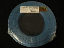 22 GAUGE 2 CONDUCTOR 200 FT BLUE ALARM WIRE SOLID COPPER HOME SECURITY CABLE
