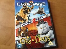 Cats and Dogs / Cats and Dogs - The Revenge of Kitty Galore (DVD, 2010, 2-Disc S
