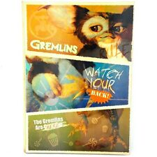 Gremlins Gizmo Mogwai Notebook Note book Lenticular cover