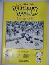 Wargames World 2 Texas marine histoire militaire/Wargaming Magazine