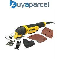 Dewalt DWE314K 240 V filaire outils multifonction en T-Stack Kitbox Lames