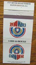 New listing JESTER MATCHBOOK MATCHCOVER: CASINO ROUGE (BATON ROUGE, LOUISIANA) -E5
