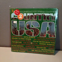 COUNTRY USA - 1974 Pickwick Compliation - Vinyl Record LP - EX - SEALED!!!!