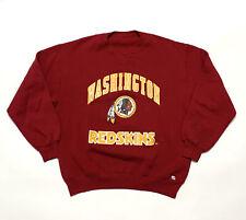 VINTAGE Russell Washington Redkins Sweater Mens Medium Red 90s NFL