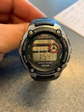 """CASIO """" WAVE CEPTOR"""" Watch(WV200A) World Time/Chronograph/ 46mm/200M."""