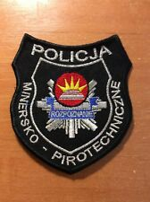 PATCH POLICE POLAND BOMB EOD SQUAD - ORIGINAL!