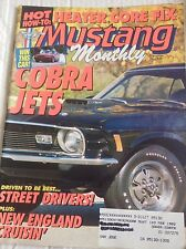 Mustang Monthly Magazine Heater Core Fix Cobra Jets November 1991 040717NONRH