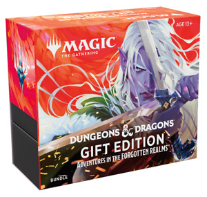 Magic: The Gathering Adventures In The Forgotten Realms Bundle Gift Edition MTG