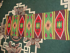 Old Embroidered Ukrainian carpet handmade