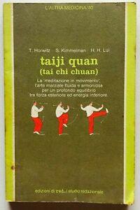 Taiji quan Tai chi chuan Manuale Arte marziale Red 1985 Horwitz Kimmelman Lui