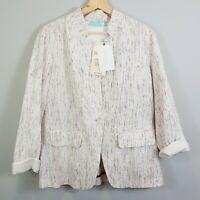 [ BLUE ILLUSION ] Womens Blazer Jacket NEW $249.99 | Size M or AU 12 / US 8