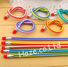 Coloré la magie Bendy Flexible Doux Crayon Avec La gomme pour Des gamins 5pcs