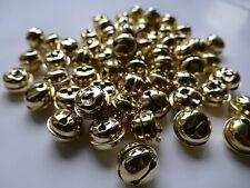 Glocken/Schellen 25 mm, goldfarben, Beutel mit 100 Stück