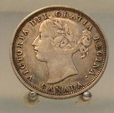 1858 Canada Silver 20 Cents