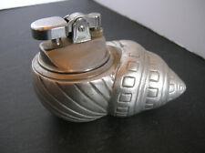 Rare Georges Briard Tabletop Seashell Cigarette Lighter
