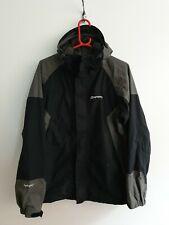 Mens Sprayway Hydro/dry Black Grey Waterpoof Coat Jacket medium essentials