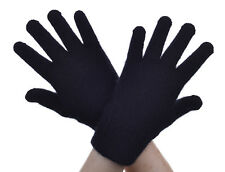 New Zealand Possum Fur Merino Wool Knitwear Finger Gloves