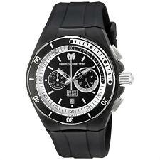 Technomarine TM-115159 Sport Cruise Black Silicone 45mm Chronograph Watch