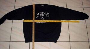 VTG. Dallas Cowboys XL crew neck Sweatshirt Pullover CSA the NutMeg Mills NFL