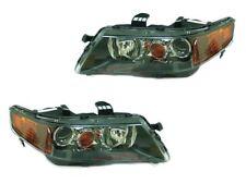 For 2004-2005 Acura TSX Base Sedan Head Lights Driver & Passenger Side LH+RH