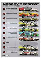 """1980 Bathurst Top 10 """"Nobody's Perfect"""" Print - Holden VC Commodore -- Hughes"""