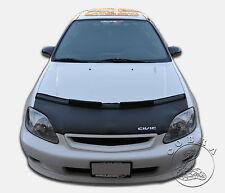 Honda Civic 99 2000 EK Custom Car Bonnet Mask / Hood Bra + CIVIC LOGO