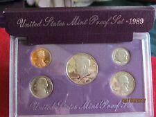 UNITED STATES MINT PROOF SET 1989 S