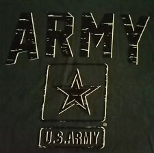 U.S ARMY T-Shirt By BAYSIDE, THE True American MADE TEE, MADE IN AMERICA