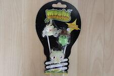 Moshi Monster GLOW IN THE DARK HALLOWE'EN 3 FIGURE PACK GURGLE HUMPHRY PROF PURP