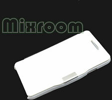 CUSTODIA COVER CASE LIBRO PER SAMSUNG GALAXY S ADVANCE i9070 BIANCO