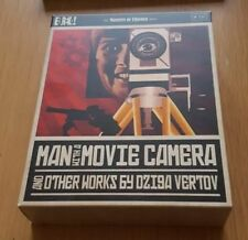 Man With A Movie Camera Region B Blu Ray Eureka Rare OOP Deleted