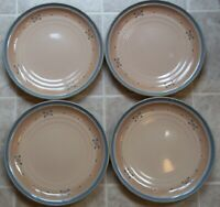 SET  OF 4   NORITAKE  ARIZONA   DINNER  PLATES    10 1/4 inches across