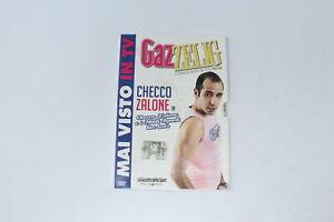 DVD GAZZELIG CHECCO ZALONE LA GAZZETTA DELLO SPORT  [LR-067]