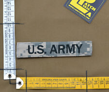 """Ricamata / Embroidered Patch """"U.S. ARMY"""" UCP / ACU with VELCRO® brand hook"""