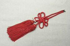 1Pcs Chinese Red Propitious Kiku Knot For Car Rearview Mirror Vip Charms
