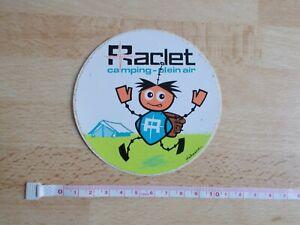Sticker Raclet Camping-Plein Air