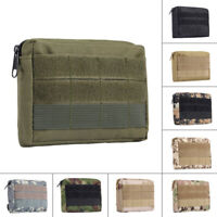 Military Sundries Bag Outdoor Zippered Key Pouch Mess Kit Bag EDC Pouch