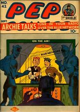 Pep Comics #42 Photocopy Comic Book, Archie, The Shield, The Hangman