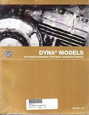2012 Harley Dyna Super Wide Glide Low Rider Fat Bob Electrical Diagnostic Manual