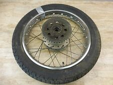 1972 Honda CB350 Super Sport CB 350 H1017-2' rear wheel rim 18in
