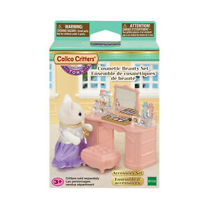Calico Critters Cosmetic Beauty Set CF3019 NEW IN STOCK