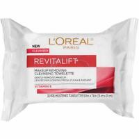 L'Oreal Paris Revitalift Makeup Removing Wipes 30 ct, Gentle Makeup Remover