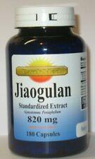Jiaogulan Extract ( xiancao ) 820mg 180 Capsules Gynostemma Pentaphyllum