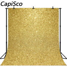Gold Glitter Birthday Party Photo Backgrounds Baby Shower Photography Backdrops