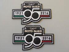 PATCH MOTO GUZZI 95 ANNIVERSARIO N.2 RICAMATA TERMOADESIVA CM 10,5X6-COD.428
